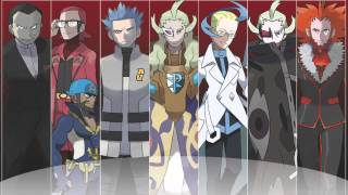 Repeat youtube video Pokemon - All Antagonist Battle Themes V3