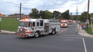 2018 Northampton,PA Fire Department Block Party Parade 9/22/18