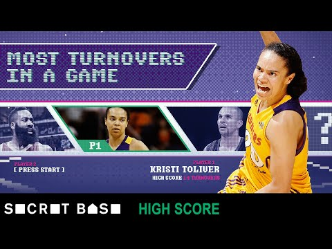 You have to play like a superstar to set the NBA record for turnovers in a game
