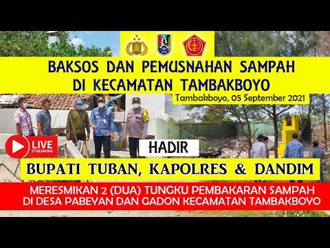 Live | Bupati Tuban, Kapolri Dan Dandim Meresmikan 2 Tungku  Di Kecamatan Tambakboyo