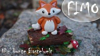 Der Herbst ist da!! ~ kleiner Fuchs ~ Fimo Tutorial #10