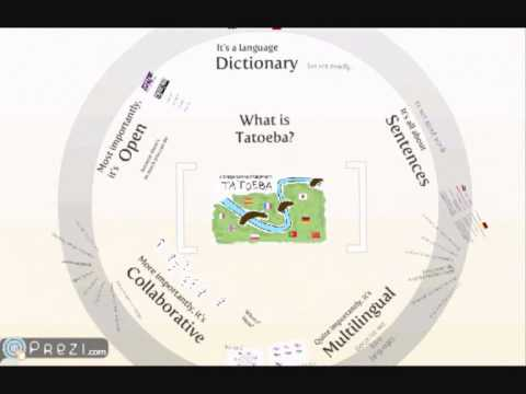 Tatoeba Project - Open, collaborative, multilingual dictionary of sentences