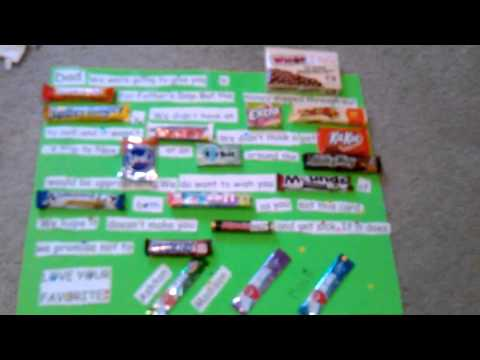 candy card( fathers day)