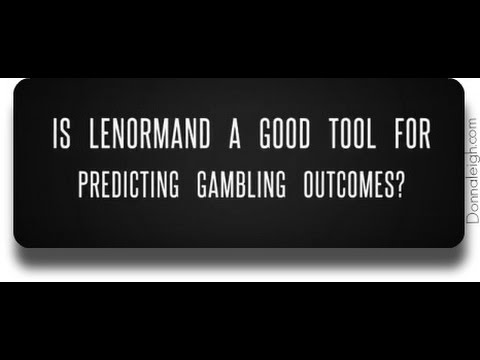 Can Lenormand be used to predict gambling outcomes?