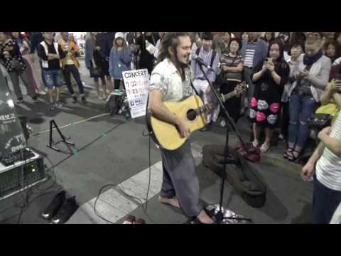 Aancod and Tagbornee : Gnarls Barkley - Crazy (Cover)busking