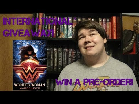 {GIVEAWAY CLOSED} Win a Pre-Order of Wonder Woman: Warbringer by Leigh Bardugo
