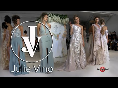 JULIE VINO FW 2018 WEDDING Collection Runway Show @ NY BRIDAL Fashion Week