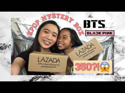 unboxing-kpop-mysterybox-from-lazada-|-bts-and-blackpink-mystery-box-|-sab-and-alex-philippines