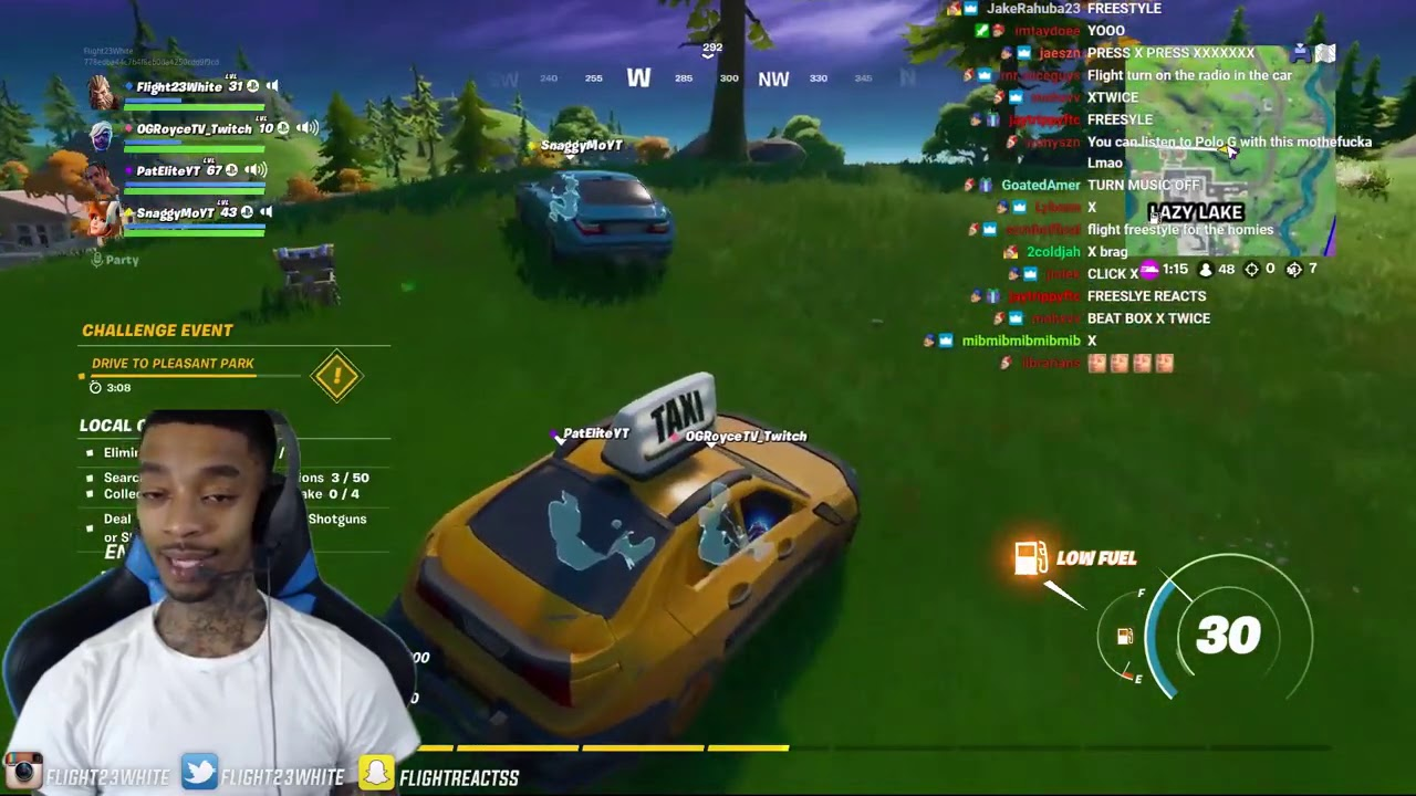 Download FlightReacts Playing Fortnite Before Season 4... (COMES UP CLUTCH!)