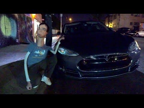 Buying a Tesla model 3 w/ Enya and Josh