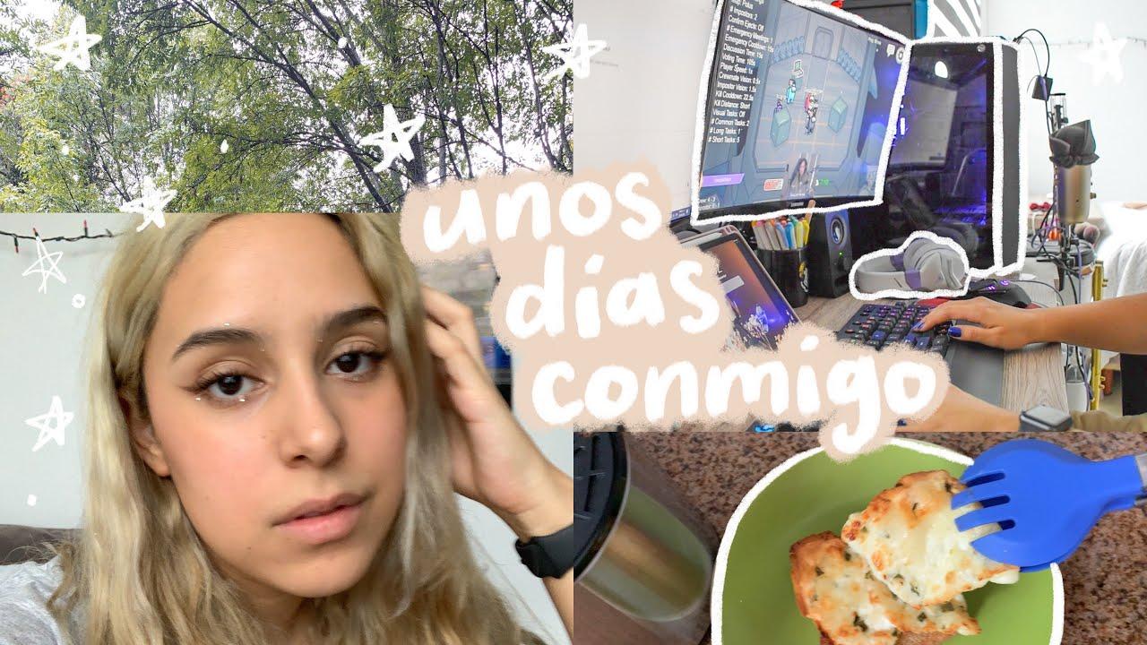 vlog: tarea, falta de sueño, reviviendo mi infancia