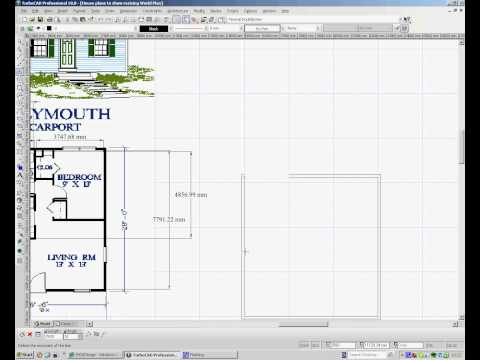 TurboCAD – Drawing House Plans 1