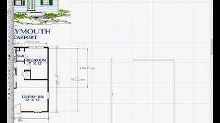 Turbocad - Drawing House Plans 1