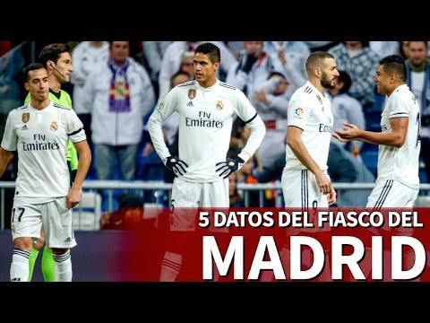 Los 5 fiascos del Madrid en Liga y Champions de los últimos años | Diario As