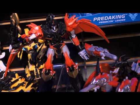 "Toy Fair 2013 Transformers Prime ""Beast Hunters"""