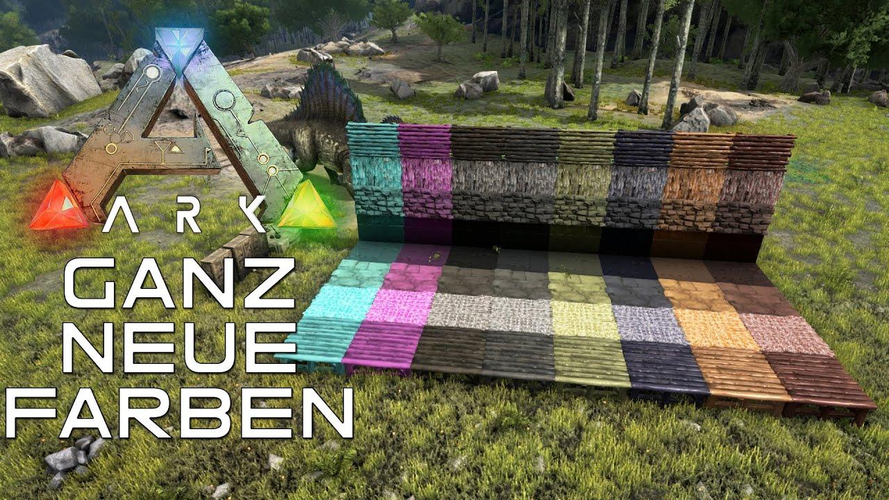 ark ganz neue farben let 39 s play together ark survival. Black Bedroom Furniture Sets. Home Design Ideas