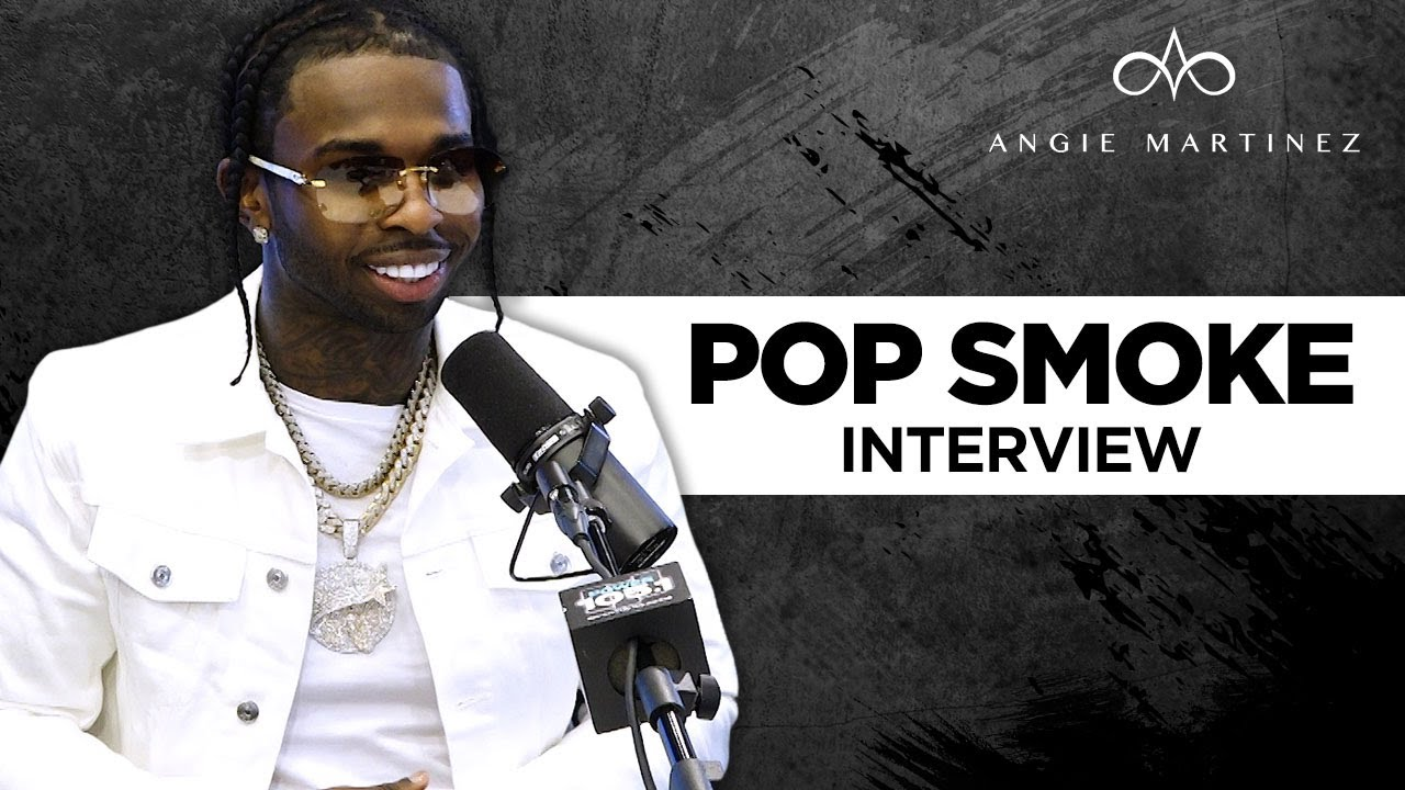 """Download Pop Smoke Says Wraith Story Is All Cap, Talks """"Meet The Woo 2"""" + Gives Angie Adlib Lessons"""