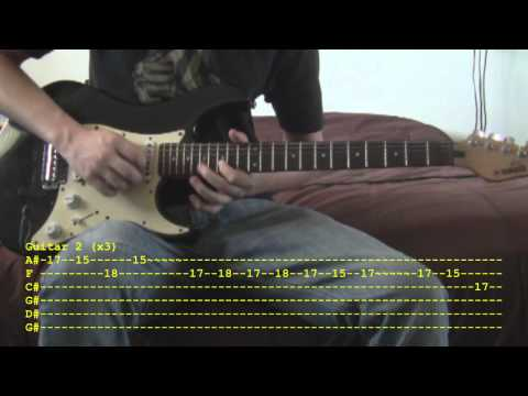 Legacy  Memphis May Fire Guitar Tutorial