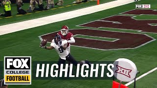 TCU's John Diarse makes a miraculous, 1-handed TD snag | Highlights | FOX COLLGE FOOTBALL