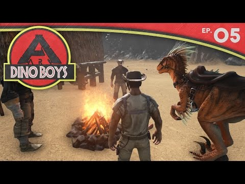 ARK: Survival Evolved :: Dino Boys Ep. 05 :: Tales of Adventure!