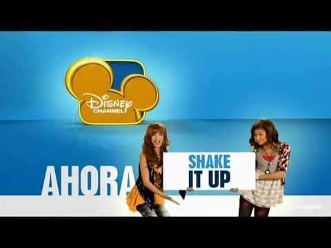 Disney Channel HD Spain - New bumper - Shake it Up