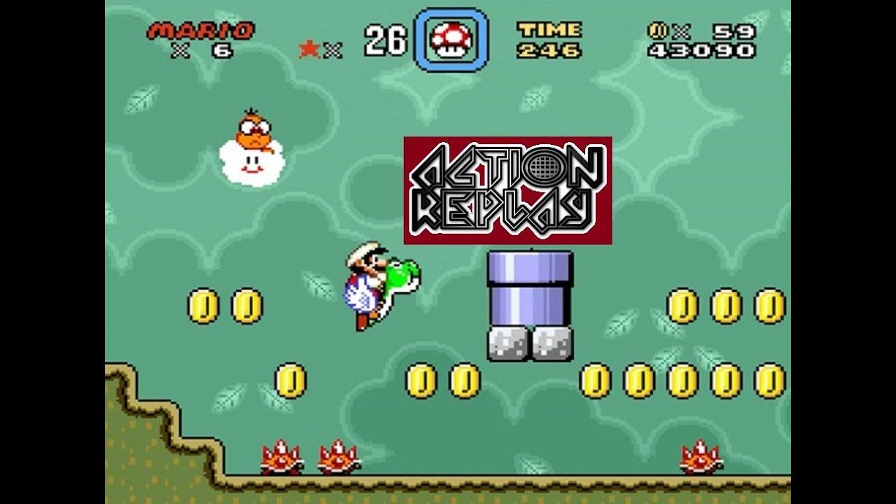 Super Mario World Game Genie Codes (USA)