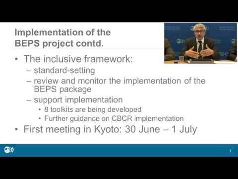 OECD Tax Talks #1 - Centre for Tax Policy and Administration