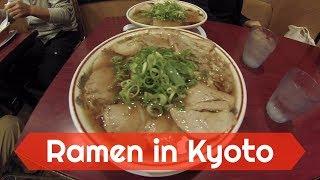 Best RAMEN in Kyoto - Kyoto Takabashi Honke Daiichiasahi