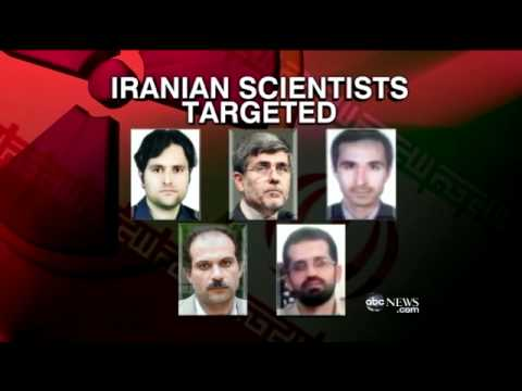 iranian scientists murdered by mossad