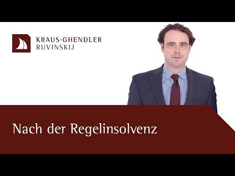 Restschuldbefreiung & Fortführung Der Selbstständigkeit Bei Der Regelinsolvenz - Erklärt Vom Anwalt