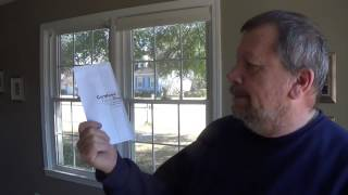 How to install Cordless Cellular Fabric window shades
