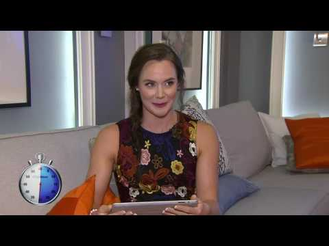 Video: 60 Second Challenge: Tessa Virtue