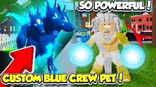 THE OWNER GAVE ME A CUSTOM PET IN GOD SIMULATOR!! *SO POWERFUL* (Roblox)