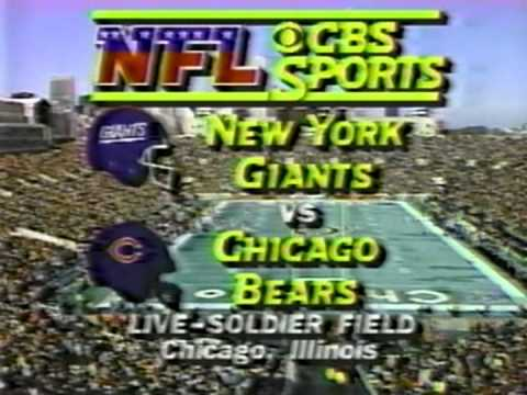 1985 NFC Divisional Playoff Intro