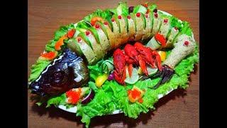 Закуска из сардины.Праздничный стол.Романтический ужин.14 февраля.8 марта