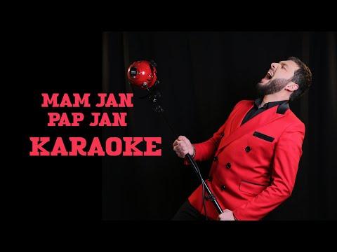 Արաբո  Իսպիրյան -Ծնողներիս \\Karaoke\\ Mam Jan , Pap Jan