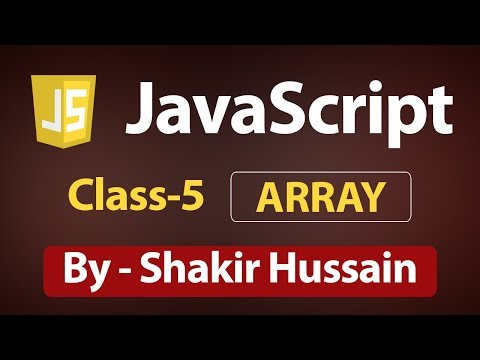 JavaScript Array | Array Object in JavaScript Tutorial for Beginners in Hindi thumbnail