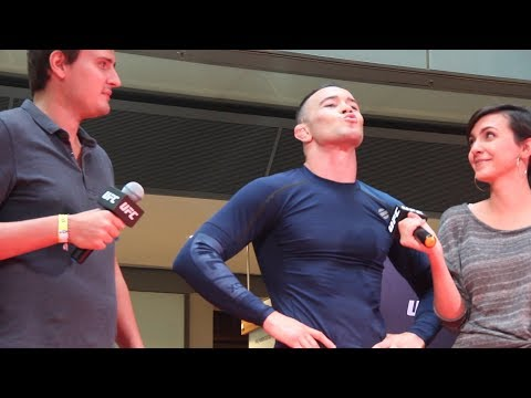 UFC Sao Paulo: 'Bad Guy' Colby Covington Booed by Brazilian Fans at Open Workouts