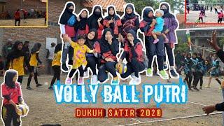 Turnamen Ball Volly Putri Dukuh Satir Cup 2020