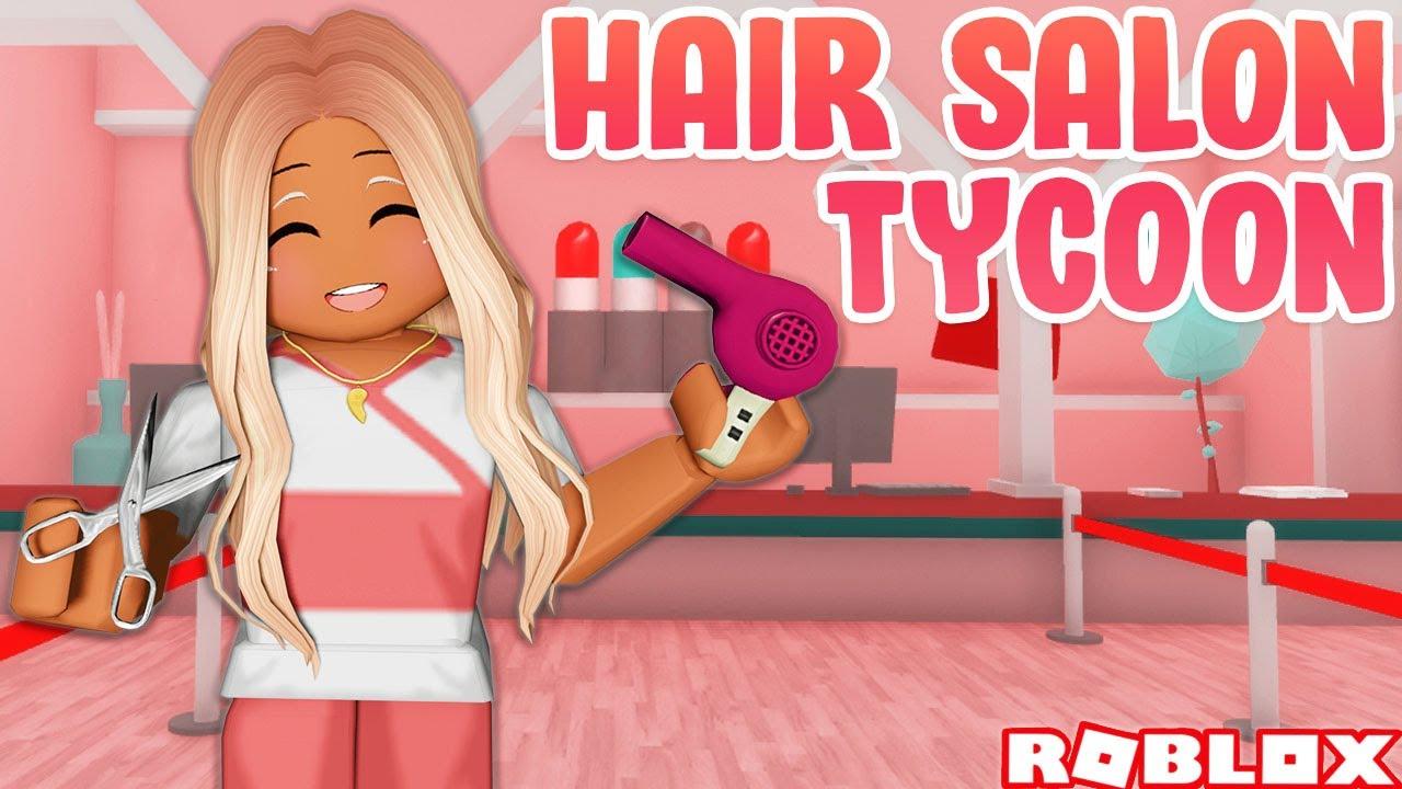💇♀️ BUILDING MY OWN HAIR SALON ON ROBLOX ✨ Hair Salon