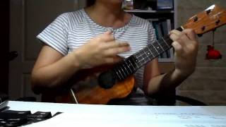 江蕙-愛我三分鐘-烏克麗麗彈唱