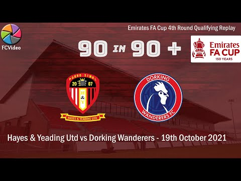 Hayes Dorking Goals And Highlights
