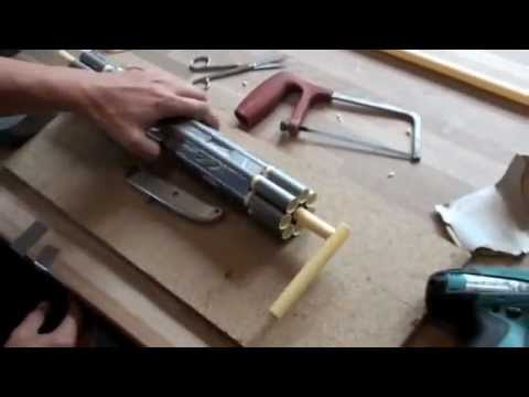 how to make a blowgun out of pvc