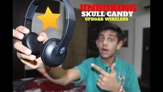 Unboxing SkullCandy Uproar Wireless Headphones(Compat.with Bluetooth)