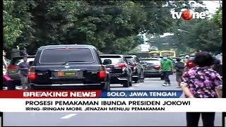 Gambar cover Iring-iringan Antarkan Jenazah Almarhumah Ibunda Jokowi Menuju Pemakaman di Karanganyar