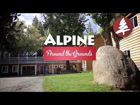 Around The Grounds of Alpine Camp and Conference Center, near Lake Arrowhead, CA