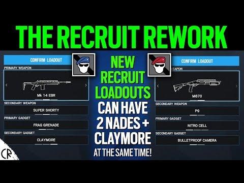 Reworked Recruit Loadouts - Void Edge - 6News - Tom Clancy's Rainbow Six Siege