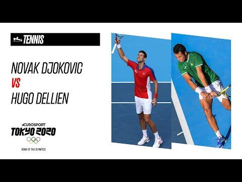 Novak Djokovic vs Hugo Dellien | Tennis - Highlights | Olympic Games - Tokyo 2020