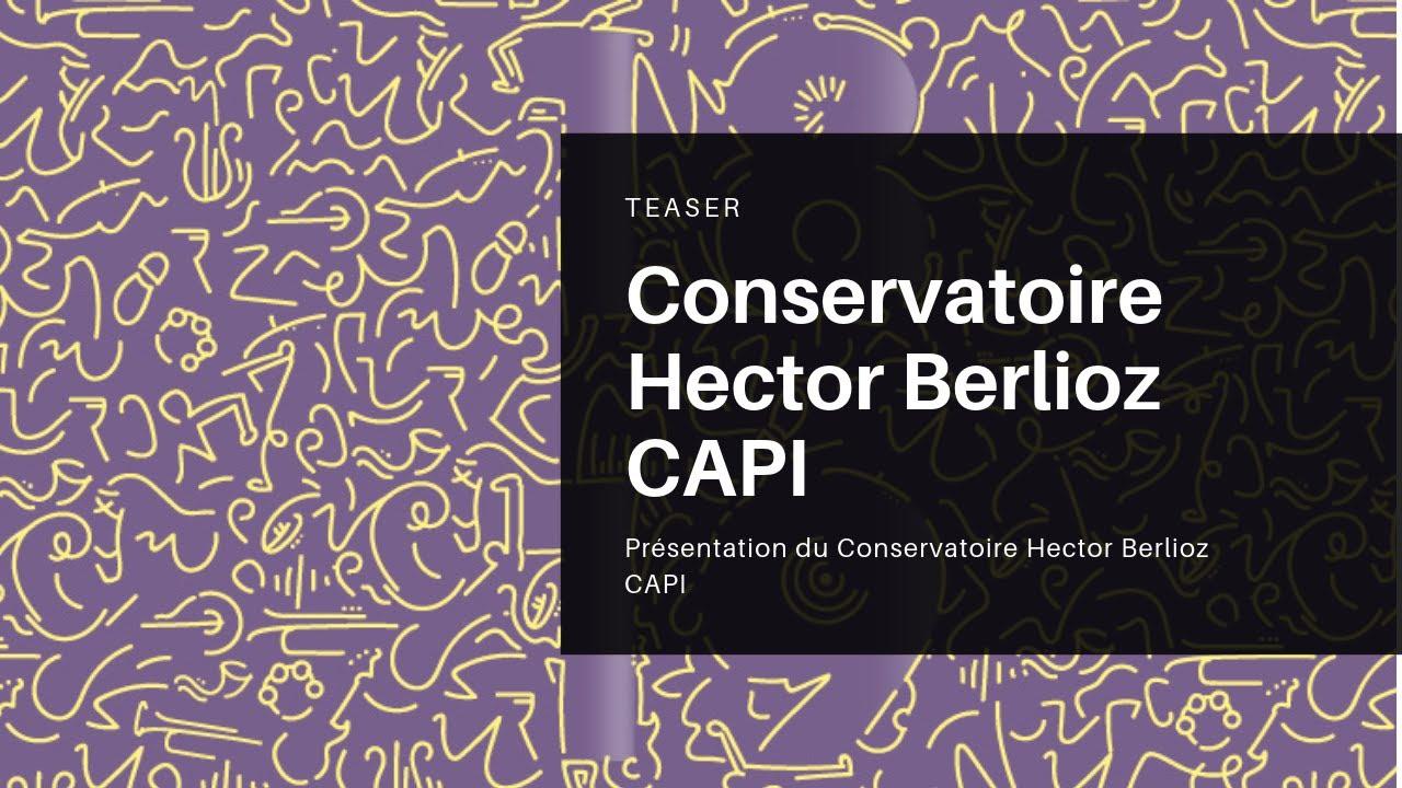 Accueil - La Capi Conservatoire