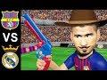 Barcelona vs Real Madrid 5-1 | Suarez Hat Trick | Parody Highlights